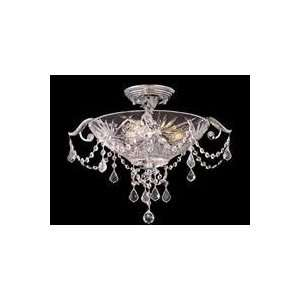 Dale Tiffany GH80344 3 Light St. David Semi Flush Ceiling