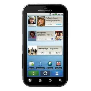New Motorola DEFY MB525 Black Android Unlocked Phone