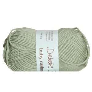 Debbie Bliss Cashmerino Baby Yarn color 003 Pastel Green