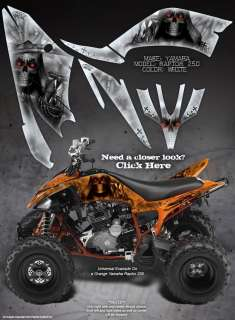 YAMAHA RAPTOR 250 GRAPHICS THE CALL OF DEATH REAPER
