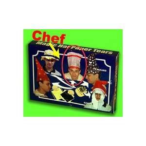 Hat Paper Tear  CHEF   Kid Show Magic Trick Toys & Games