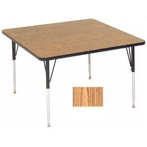 Correll A3636 Sq 02 Square Activity Tables   Standard Legs