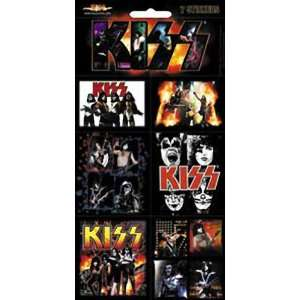 KISS 7 MINI PHOTOS STICKER SET Toys & Games