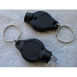 LED KEY CHAIN FLASH LIGHT   FOCUSED BRIGHT WHITE LED