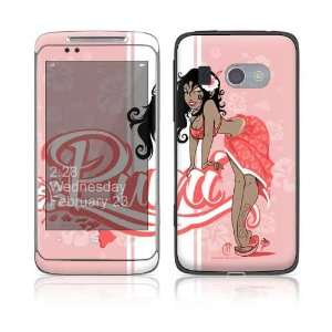 Puni Doll Pink Decorative Skin Cover Decal Sticker for HTC