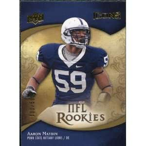 2009 Upper Deck Icons #168 Aaron Maybin /599 Sports Collectibles