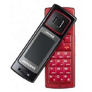 Samsung F200 Red Triband Unlocked Gsm Phone Cell Phones