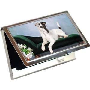 Smooth Fox Terrier Business Card / Credit Card Case
