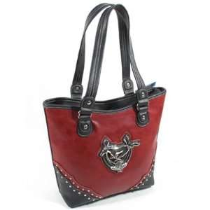 Ford Mustang Purse   Red with Anniversary Emblem   Beautiful