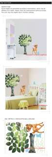 Bambi Easy Instant Nursery Wall Sticker Decal DS383