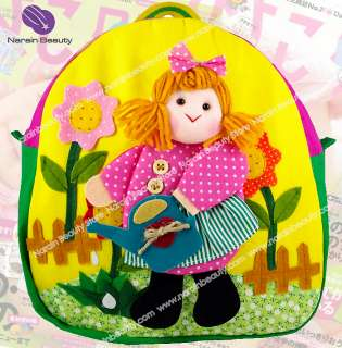 Baby Kids Toddler Handcrafted Doll Backpack School Bag