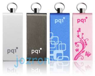 PQI i812 USB Flash Pen Drive Stick Disk 16G 16GB Black