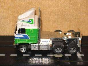 Aurora AFX HO Scale Crunchn Munch Semi Truck And Trailer ~ Very Clean