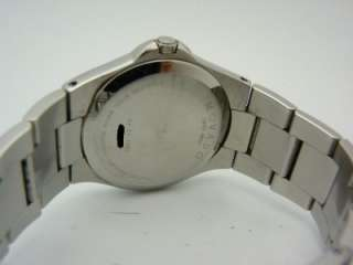 Movado 84 E7 1850 Luno Mens Stainless Steel Watch