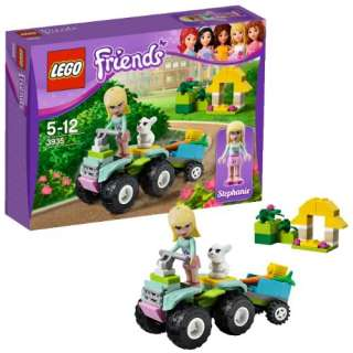 NEW 2012 LEGO FRIENDS 3935 STEPHANIES PET PATROL *NIB, NEW LEGO FOR