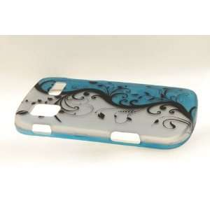 Samsung Focus i917 Hard Case Cover for BL/SV Vines Cell