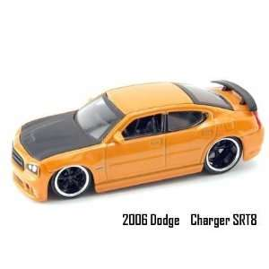 Jada Dub City Big Time Muscle Orange 2006 Dodge Charger