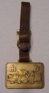 International Harvester Dump Truck Loader Brass Badge