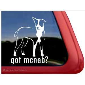 Got McNab? ~ McNab Vinyl Window Auto Decal Sticker