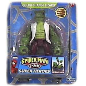 Spider man and Friends Color Change Lizard Toys & Games