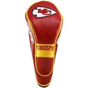 NFL Kansas City Chiefs Red Gold Hybrid Headcover  Sports
