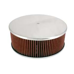 49135 hpR 14 x 5 Smooth Polished Aluminum Air Cleaner Automotive