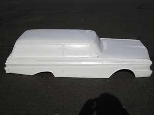 1964 Falcon Sedan Delivery pedal car hot rod stroller 1/4 scale