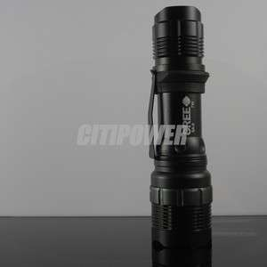 LED Flashlight Torch Zoomable SA9 Dimmer 7 Watt Zoom High power
