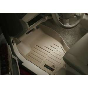 2005 2010 Jeep Grand Cherokee Tan WeatherTech Floor Liner