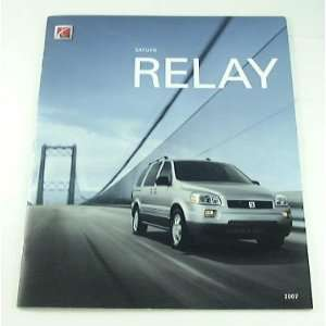 2007 07 Saturn RELAY Truck Suv BROCHURE Relay1 Relay2