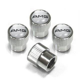 Mercedes Benz AMG Steel Wheel Tire Valve Stem Caps (4pcs