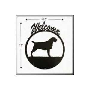 Wirehaired Pointing Griffon Welcome Sign Patio, Lawn & Garden