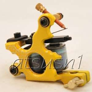 Custom Pro Top Hand Made 10 Wrap Coil Tattoo Machine Gun