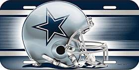 CAR/AUTO LICENSE PLATE DALLAS COWBOYS NFL FOOTBALL