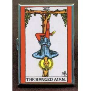 THE HANGED MAN TAROT CARD ID Holder, Cigarette Case or Wallet MADE IN