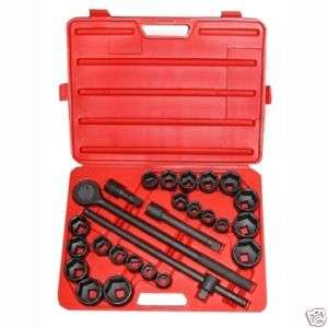LARGE BIG HEAVY DUTY TRUCK SIZE SOCKET WRENCH TOOL SET