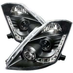 Spyder Auto PRO YD N350Z02 DRL BK Black LED Projection
