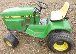 John Deere 400 Tractor Good Year 18x8.50 8 Front Tires & Rims