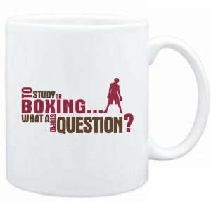 New  To Study Or Boxing  What A Stupid Question
