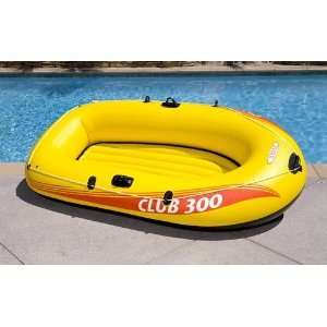 Person Inflatable Boat Raft Pool Fun Outdoor River Rafting New