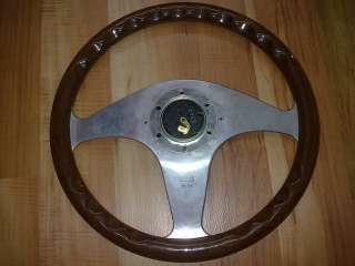 MOMO Classic Wood steering wheel 3 spokes Limited made Italy OEM