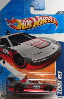 2011 Hot Wheels Acura NSX Col. #131