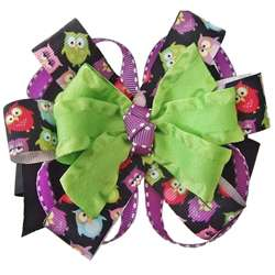 Lil Sweetys Bowtique Hoot Owl Boutique Hair Bow