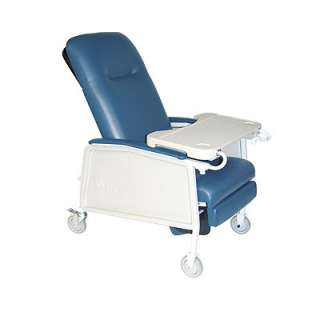 NEW 3 Position Heavy Duty Geri Chair Clinical Recliner