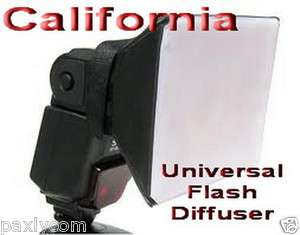 Universal Flash Diffuser Soft Box For Canon, Nikon,Sigma,Off Camera