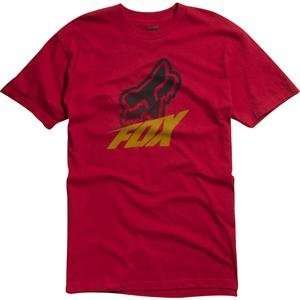 Fox Racing Method T Shirt   2X Large/Red Automotive