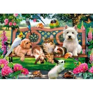 Pets in the Park 250 Piece Wooden Jigsaw Puzzle Toys