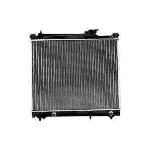 TYC 2506 Chevrolet Tracker 1 Row Plastic Aluminum Replacement Radiator