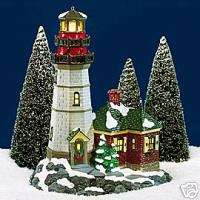 DEPT 56 SNOW VILLAGE CHRISTMAS COVE LIGHTHOUSE