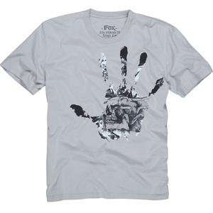 Fox Racing Disenfect T Shirt   X Large/Light Grey